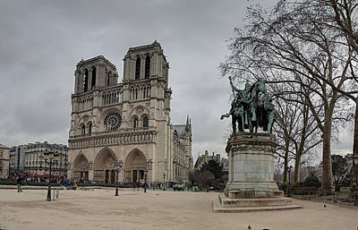 Paris France - Notre Dame De Paris - 011314 Art Print by DC Photographer