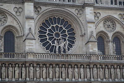 Paris France - Notre Dame De Paris - 01137 Art Print by DC Photographer