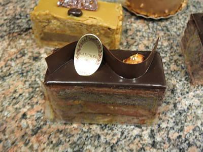 Chocolate Photograph - Paris France - Pastries - 1212195 by DC Photographer