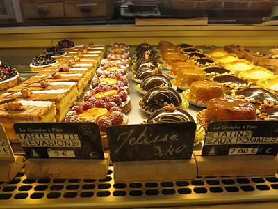 Paris France - Pastries - 121223 Art Print