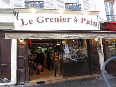 Paris France - Pastries - 121233 Art Print by DC Photographer