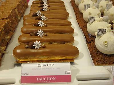 Paris France - Pastries - 121279 Art Print by DC Photographer