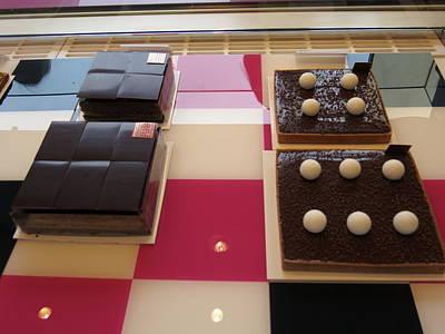 Chocolate Photograph - Paris France - Pastries - 121282 by DC Photographer