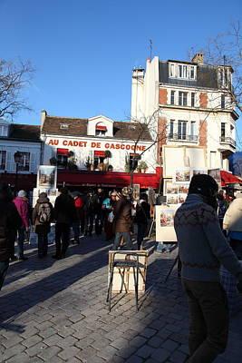 Paris France - Street Scenes - 011311 Art Print by DC Photographer