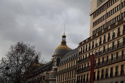 Buildings Photograph - Paris France - Street Scenes - 0113120 by DC Photographer