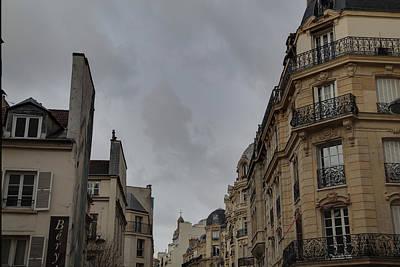 Paris France - Street Scenes - 0113123 Print by DC Photographer