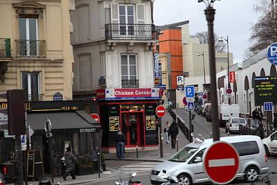 Paris France - Street Scenes - 0113132 Art Print by DC Photographer