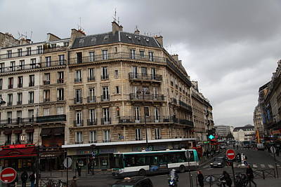 Streets Photograph - Paris France - Street Scenes - 0113142 by DC Photographer