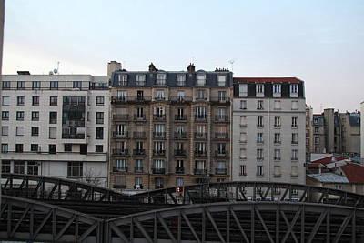 Paris France - Street Scenes - 011316 Art Print