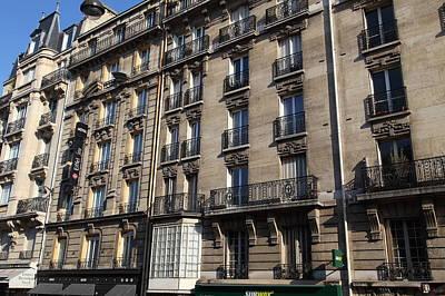 Tables Photograph - Paris France - Street Scenes - 011320 by DC Photographer