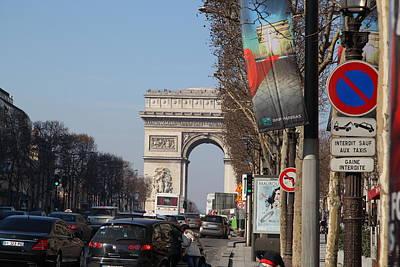 Life Photograph - Paris France - Street Scenes - 011322 by DC Photographer