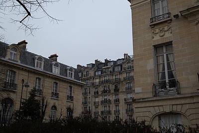 Tables Photograph - Paris France - Street Scenes - 011327 by DC Photographer