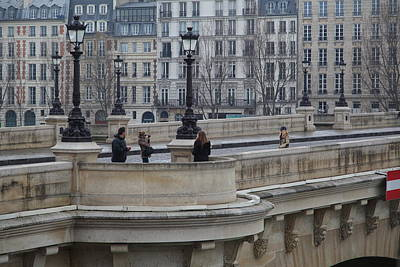Chair Photograph - Paris France - Street Scenes - 011346 by DC Photographer