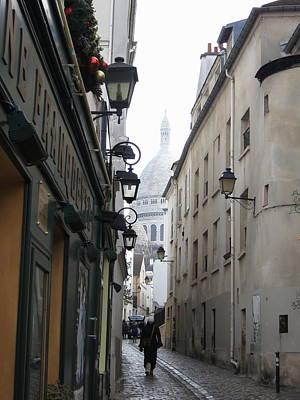Shops Photograph - Paris France - Street Scenes - 121216 by DC Photographer