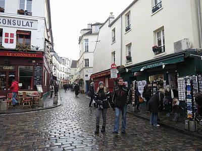 Paris France - Street Scenes - 121220 Art Print by DC Photographer