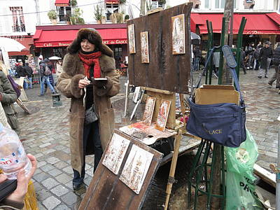 People Photograph - Paris France - Street Scenes - 121222 by DC Photographer