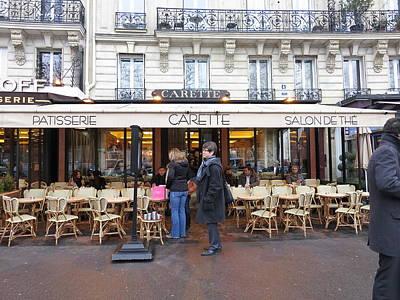 Street Photograph - Paris France - Street Scenes - 12128 by DC Photographer