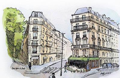 Paris Gare Du Nord Art Print by Marie Minyoung Jeon
