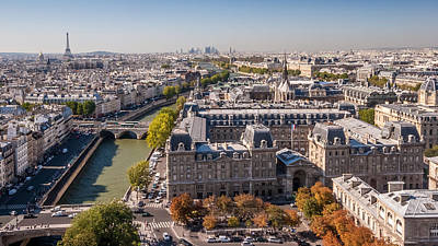 Photograph - Paris In Autumn by Pierre Leclerc Photography