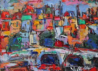 Paris In Colors Art Print