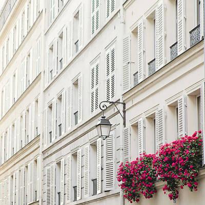 Photograph - Paris In Pink by Irene Suchocki