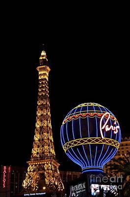 Photograph - Paris In Vegas by Bridgette Gomes