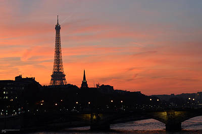 Paris Skyline Royalty-Free and Rights-Managed Images - paris IV by Sebastiano Secondi