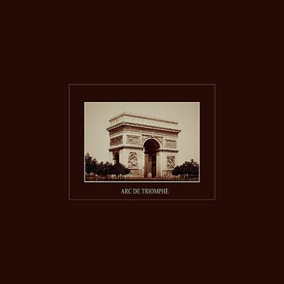 Moody Trees - Paris Landmarks 2 by Andrew Fare