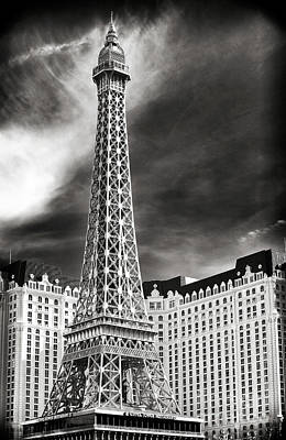 Paris Las Vegas Art Print by John Rizzuto