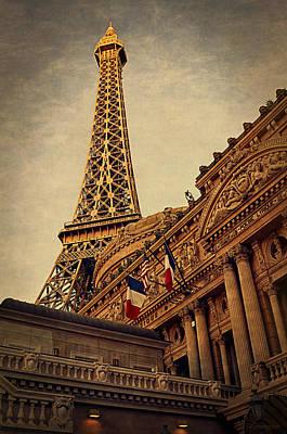 Paris - Las Vegas Art Print