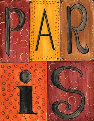 Painting - Paris by Lee Owenby