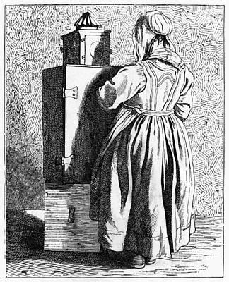 Magic Lantern Painting - Paris Magic Lantern, C1740 by Granger