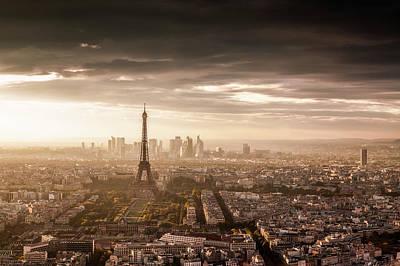 Eiffel Tower Photograph - Paris Magnificence by Jaco Marx