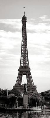 Photograph - Paris Manhattan by Olivier Le Queinec