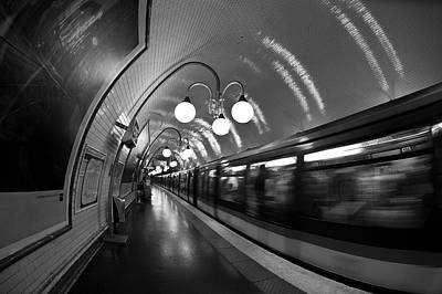 Photograph - Paris Metro by Ng Hock How