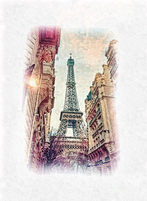 Paris Mon Amour Art Print