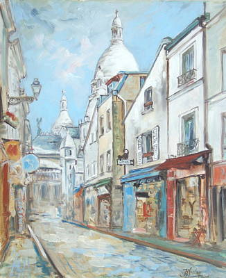 Paris - Montmartre Art Print