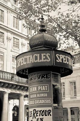 Photograph - Paris News by Matthew Pace