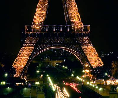 Photograph - Paris Night by Mick Burkey