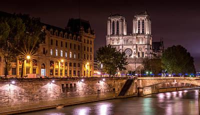 Paris Notre Dame Art Print by Tomas Horvat