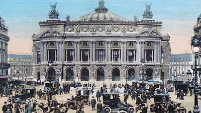 Paris Opera 1910 Original