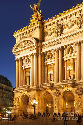 Photograph - Paris Opera by Brian Jannsen