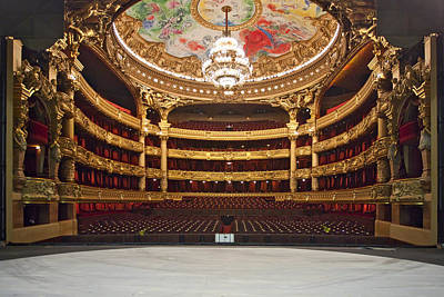 Photograph - Paris Opera House 2 by Al Hurley