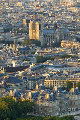 Photograph - Paris Overhead by Brian Jannsen