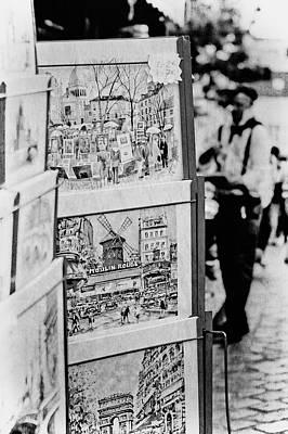 Paris Paintings Art Print by Ellen and Udo Klinkel