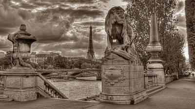 Photograph - Paris Panorama by Michael Kirk