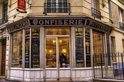 Boulangerie Photograph - Paris Patisserie by Georgia Fowler