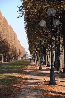 Photograph - Paris Peaceful Afternoon by Jacqueline M Lewis