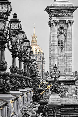 Paris Pompous Art Print by Joachim G Pinkawa