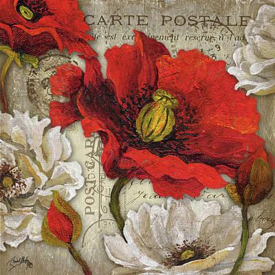 Postcards Digital Art - Paris Postcard II by Elizabeth Medley